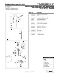 Parts Manual: TEL3GGW10, TEL3GGW60