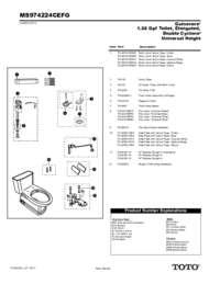Parts Manual: MS974224CEF, MS974224CEFG