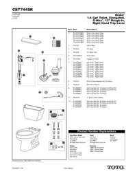 Parts Manual: CST744SR