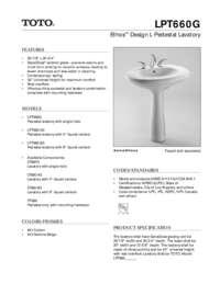 Spec Sheet: LPT660G