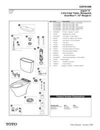 Parts Manual: CST416M