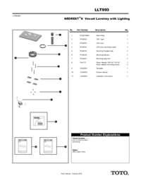 Parts Manual: LLT993