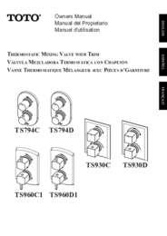 Owners Manual: TS794C, TS794D, TS930C, TS930D, TS960C1, TS960D1