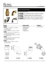 Return Elbow For U.3530 And U.3531