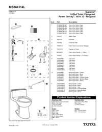 Parts Manual: MS864114L