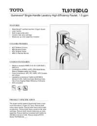 Spec Sheet: TL970SDLQ