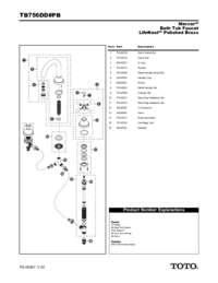 Parts Manual: TB756DD