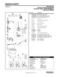 Parts Manual: MS964214CEFG