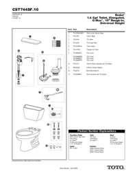 Parts Manual: CST744SF.10, CST744SFR.10