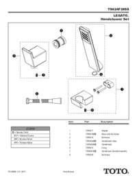 Parts Manual: TS624F2