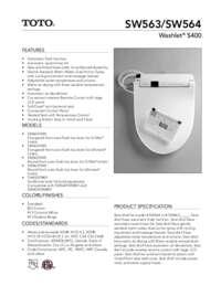 Spec Sheet: SW563, SW564