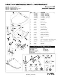 Parts Manual: SW563, SW564