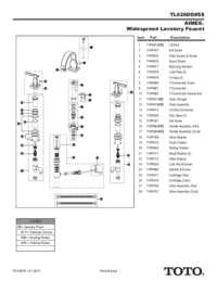 Parts Manual: TL626DD