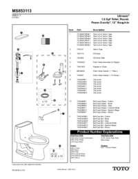 Parts Manual: MS853113