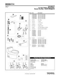 Parts Manual: MS884114