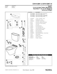 Parts Manual: CST412MF, CST412MF.10