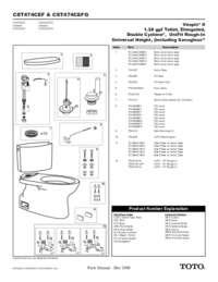 Parts Manual: CST474CEF, CST474CEFG