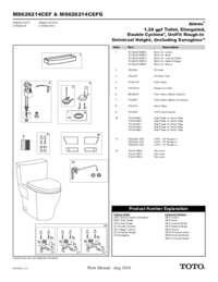 Parts Manual: MS626214CEF(G)