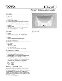 Spec Sheet: LT626