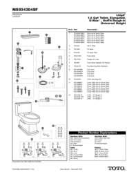 Parts Manual: MS934304SF