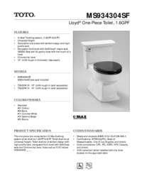 Spec Sheet: MS934304SF