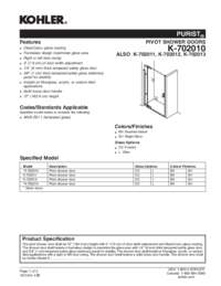 Dimensions and Measurements