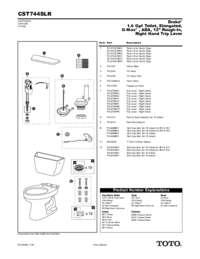 Parts Manual: CST744SLR