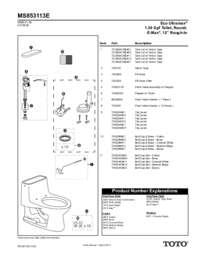 Parts Manual: MS853113E