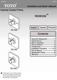 Owners Manual: TS170C, TS170C1, TS170D