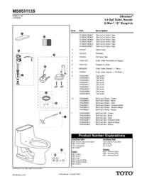 Parts Manual: MS853113S