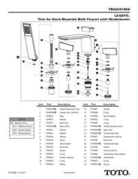 Parts Manual: TB624S1