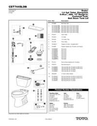 Parts Manual: CST744SLDB