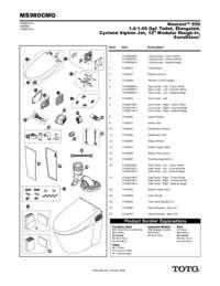 Parts Manual: MS980CMG