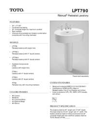 Spec Sheet: LPT790