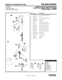 Parts Manual: TEL3GS10, TEL3GS60