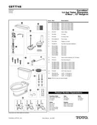 Parts Manual: CST774S