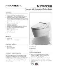 Spec Sheet: MS990CGR