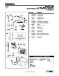 Parts Manual: MS990CGR