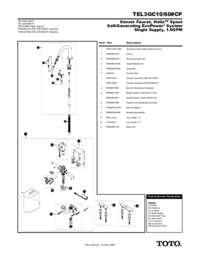 Parts Manual: TEL3GC10, TEL3GC60