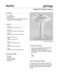 Spec Sheet: LPT780