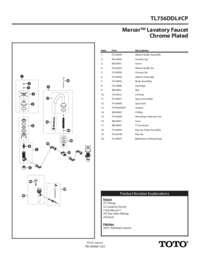 Parts Manual: TL756DDL#CP