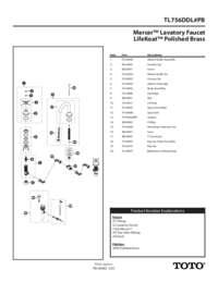 Parts Manual: TL756DDL#PB