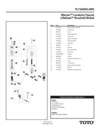 Parts Manual: TL756DDL#BN