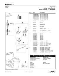 Parts Manual: MS863113