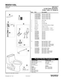 Parts Manual: MS854114SL
