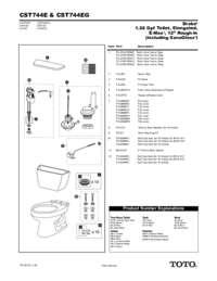 Parts Manual: CST744E, CST744EG