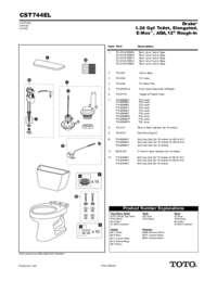 Parts Manual: CST744EL