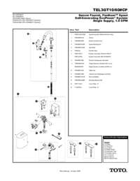 Parts Manual: TEL3GT10, TEL3GT60