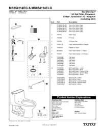Parts Manual: MS854114EG, MS854114ELG
