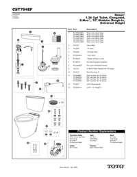 Parts Manual: CST794EF
